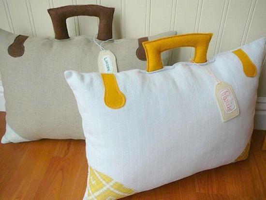 Интересная подушка своими руками