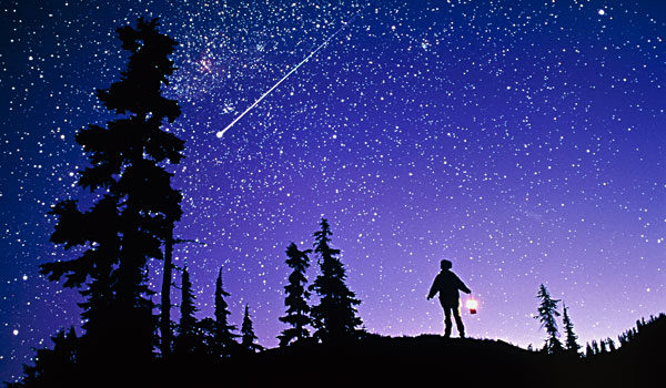 Essay on sky at night