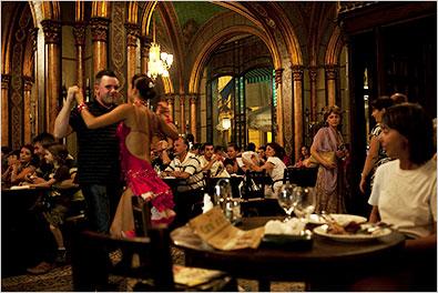 Dancing in old Bucharest