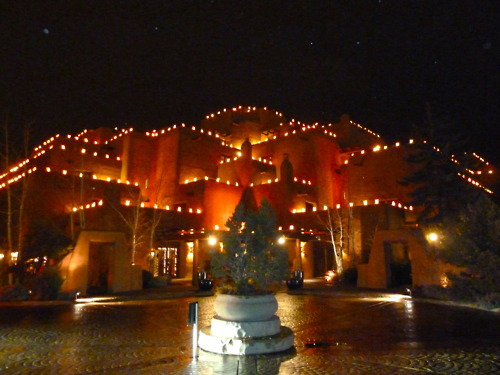 farolito lights christmas in sante fe - Christmas In Santa Fe