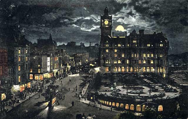edinburgh moonlight