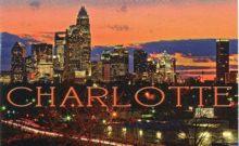 Charlotte Cityscape at Night