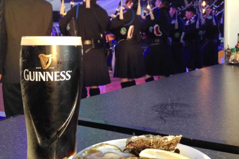 Galway Oyster Festival Oysters and Guinness